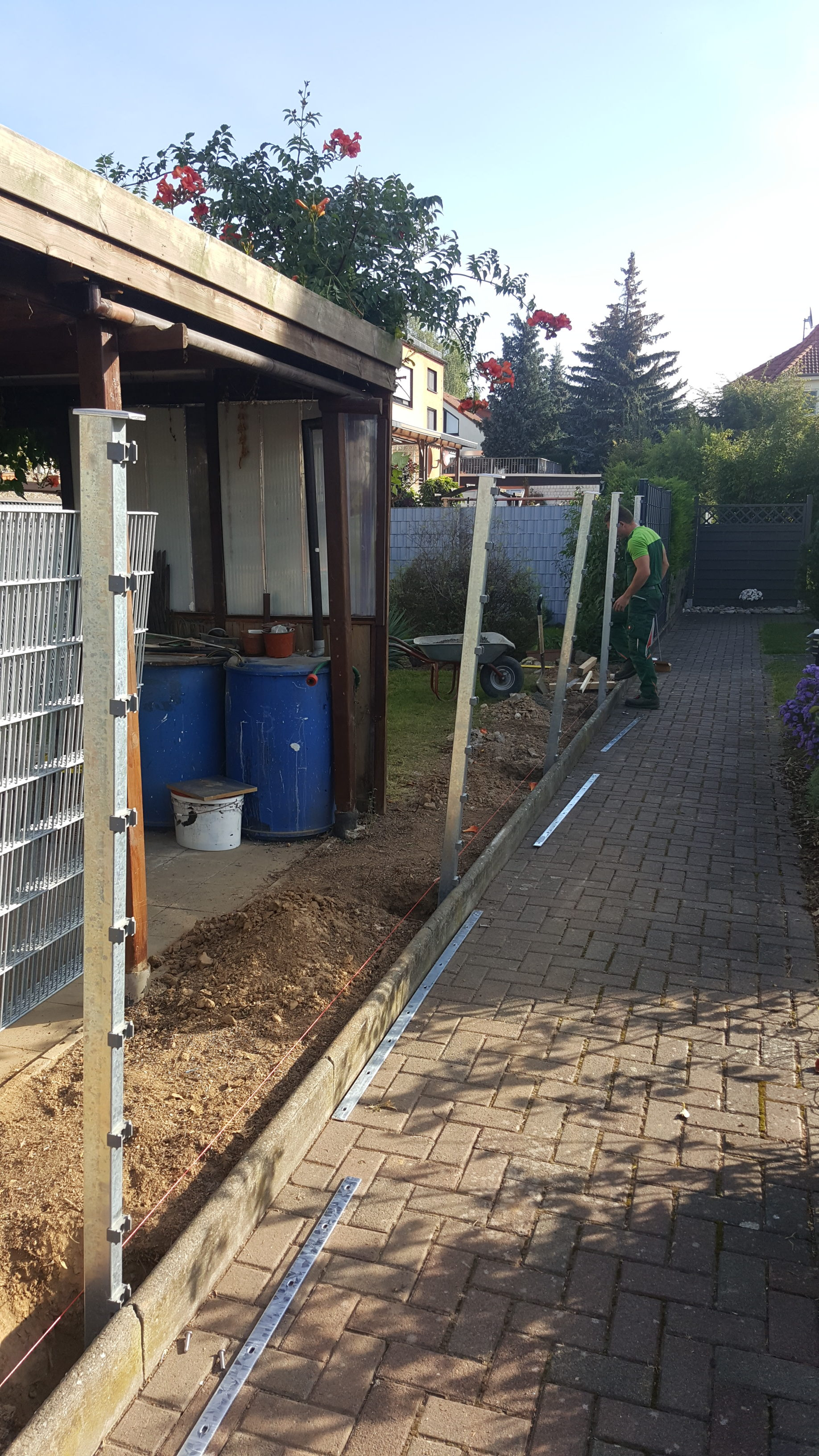 Zaun Und Toranlagen Gartenpflege Friedberg De